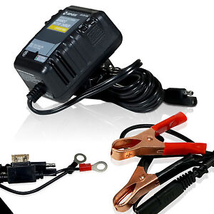 Automatic Battery Charger Maintainer 12v Trickle Float Car Boat Motorcycle