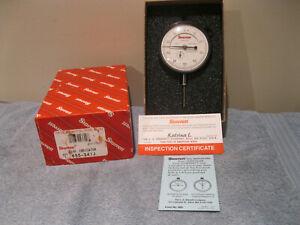 Starrett 655 341j Dial Indicator 1 Travel 001 machinist Tools