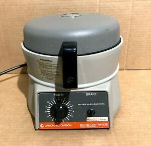 Damon Iec Mb Centrifuge Microhematocrit With Iec 275 Rotor tested