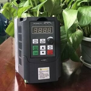 0 4kw 220v 2 5a Vfd Inverter Portable Frequency Converter Single phase Ty