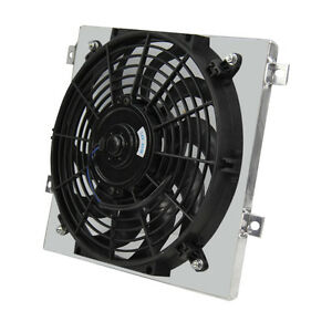 Aluminum Radiator Shroud fan For Yanmar 3 Cylinder Diesel Engine 3tne74 Us Stock