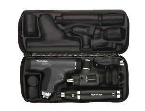 Welch Allyn Diagnostic Set 11820 Panoptic Ophthalmoscope Lluminator Otoscope
