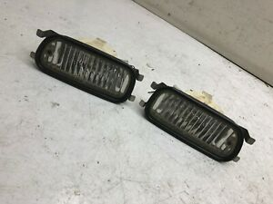 Jdm Honda Prelude Bb6 Bb5 Original Front Bumper Side Cornering Fog Lights Oem