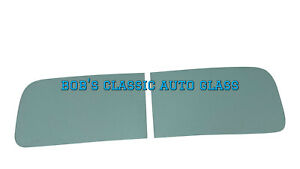 1940 Ford Coupe Tudor Fordor Truck 2pc Windshield Glass Replacement Windows New
