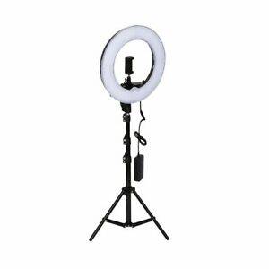 12inch Photography Studio Dimmable Led Ring Light With Holder Mount Stand Nc