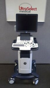 Reconditioned Ge Logiq F8 Ultrasound System With Cardiac Cw Doppler