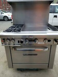 Southbend 4364d 2gr 36 Commercial Gas Range With 24 Griddle South Bend