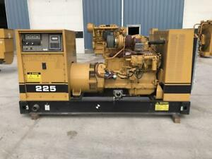 _225 Kw Cat Generator Set 12 Lead Reconnectable 370 Hours 3306