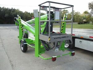 New 2021 Niftylift Tm50he Towable Boom Hydraulic Outriggers 56 Work Height