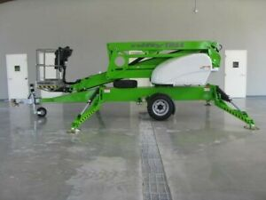 New 2021 Niftylift Tm64 Towable Boom Lift Drive Set 70 Work Height