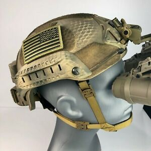 Custom Military High Cut LVL IIIA ACH MICH 2001 Seal Ballistic Helmet Fast Ship