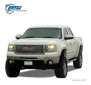 Paintable Extension Fender Flares Fits Gmc Sierra 1500 2007 2013 5 8 Ft Bed Only