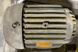 Allis chalmers Induction Motor Rgz 20 Hp 3 Ph