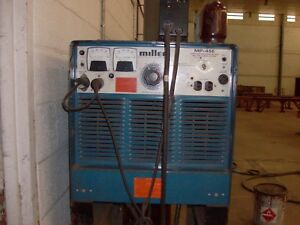 Miller Mp 45e Mig Welder With Series 60 Wire Feeder 450 Amps