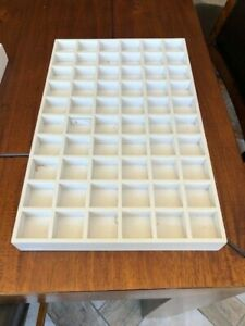 Authentic Pandora Jewelry Store Counter Display Tray 60 Pad Gold Retail Sale Use
