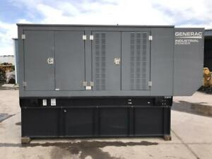 _200 Kw Generac Generator Set 12 Lead Sound Attenuated Base Fuel Tank Tier 3