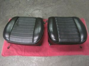 Porsche 901 911 912 Front Seat Left Right Cushions Early 911 T 911 E 911 S