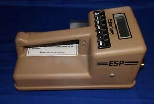 Eberline Esp 1 Micro Processor Rate Meter Scaler Radiation Geiger Scintillation