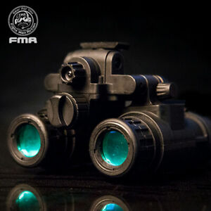 FMA Tactical Binocular Helmet NVG PVS31 Night Vision Dummy With Light Function