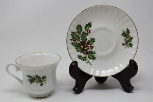 Royal Stanley Fine Bone China Cup And Saucer Made In England
