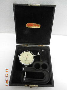 Dial Thickness Gage Starret 1015a Portable Gage Dial Indicator 0005 1 2range