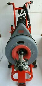 Ridgid Kollmann K 7500 Drain Cleaning Drum Machine 115v Without Cable