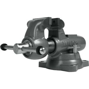 Wilton 28831 Machinist 4 Jaw Round Channel Vise With Swivel Base