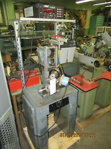 Aciera Model F1 Universal Precision Milling Machine Equipped With Haas Cnc 5c