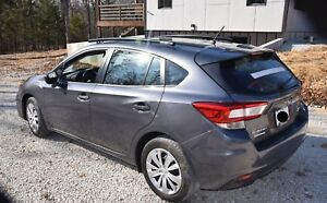 Fits 2019 Subaru Impreza 5 Dr Side Roof Rails Rack Black Powder Coated