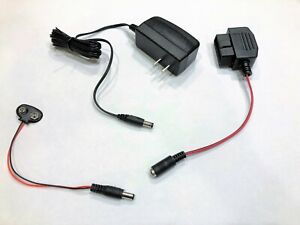Obd Style Memory Saver Ac 9v For Vehicle Battery Replacement Disconnect