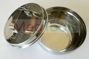 Dental Surgical Implant Laboratory Mixing Bowl Cup Stainless Steel New