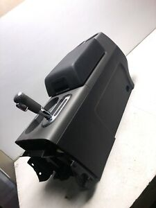 04 08 Ford F150 Pickup Front Center Floor Console Silver Black R3439