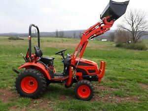 2011 Kioti Ck20s Compact Tractor Loader 22 Hp Diesel 4x4 Gear Used 180 Hrs
