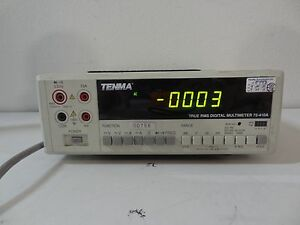 Tenma True Rms Digital Multimeter 72 410a