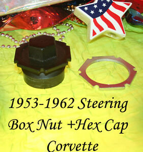 Corvette 1954 1957 1958 1960 1962 Steering Column Nut 1955 1956 1959 1961 2 Pc