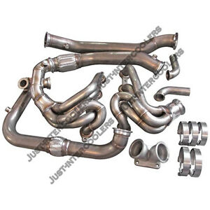 Cxracing Turbo Manifold Header Kit For Subaru Brz Scion Frs Ls1 Lsx