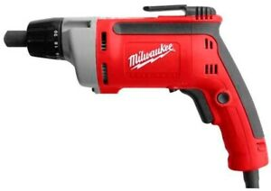 Milwaukee Drill Driver 1 4 In Hex Chuck 2500 Rpm Forward Reverse Switch Corded