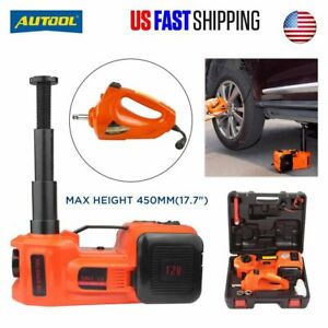 Car Jack Lift Electric Hydraulic Floor Jack 5 Ton 12v Dc Electric Impact Wrench