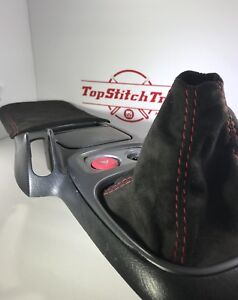 Fits 1999 03 Honda S2000 S2k Black Suede Shift Boot And Armrest Elbow Pad