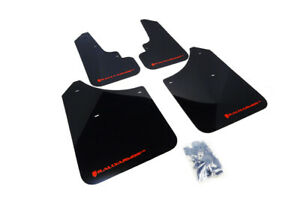 Rally Armor Black Ur Mud Flaps W Red Logo For 2003 2008 Subaru Forester