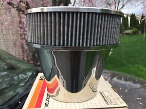 Nos K N Velocity Stack Custom Air Cleaner Assembly 59 1195 8 Inch Tall 427 454