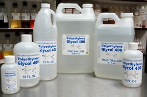 Polyethylene Glycol Peg 400 Usp Food Grade Kosher 99 7 Certified