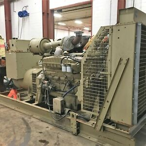 Cummins 500kw 625kva 277 480 Volts 3ph Standby Diesel Ac Generator Set Used