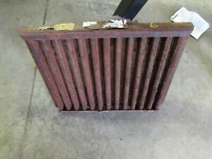 Used Grasshopper Mower Radiator Grille Screen Kubota Diesel
