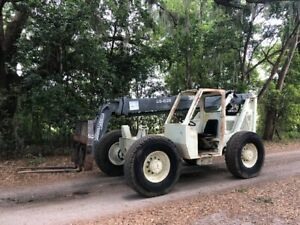 Terex Ss 636 Telehandler Forklift With Great Tires Cummins Diesel Ready To Work