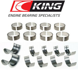 King Cr808si Mb556si Rod Main Bearings Set For Bbc Chevy 396 402 427 454 496 502