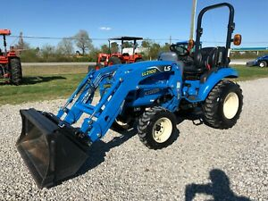 2016 Ls Xj2025h Tractor With Loader low Hours 4x4