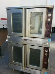 Southbend Slgs 22sc Double Deck Natural Gas Stainless Restaurant Convection Oven