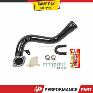 6 6 Duramax Lmm Egr Delete Kit High Flow Intake Elbow For 07 10 Chevrolet Diesel