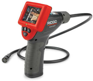 Ridgid Micro Ca25 Inspection Camera Waterproof Drain Sewer Pipe Video New